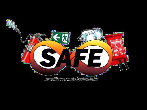 Safe8 logo
